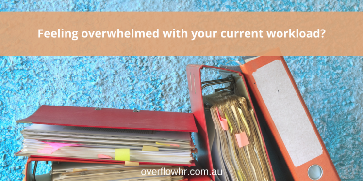 Feeling overwhelmed with your current workload?